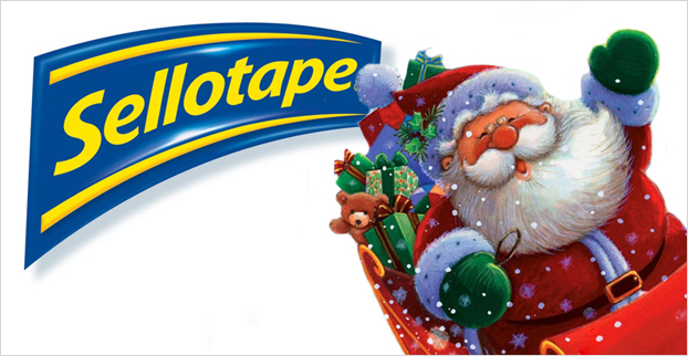 See Santa in Lapland With Sellotape!