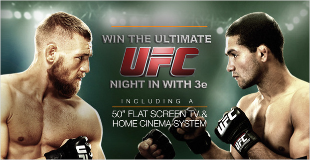 Win the Ultimate UFC Night in with 3e!