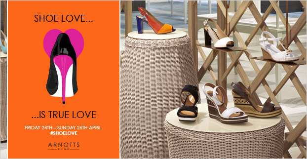 Win a Year's Supply of Shoes with Xpos� and Arnotts!