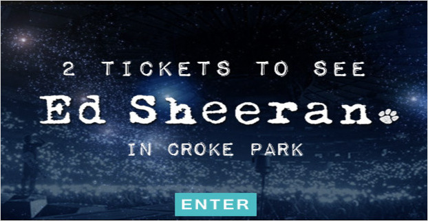WIN a pair of tickets to see Ed Sheeran in Croke Park