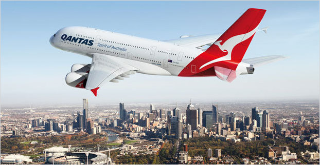 Win two flights to Australia with Qantas