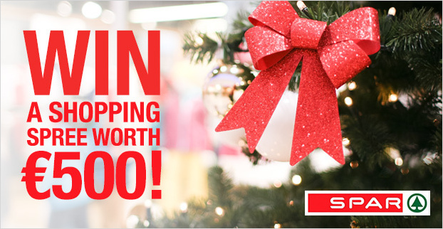 Win a €500 shopping spree with thanks to SPAR