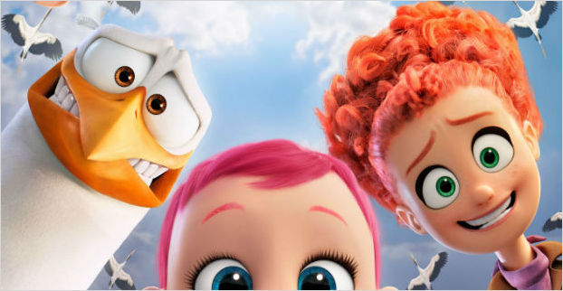 Win a family trip to Fota Island Resort thanks to J&J and Storks the movie!