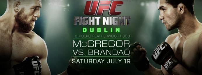 Extra tickets for UFC Dublin go on sale tomorrow