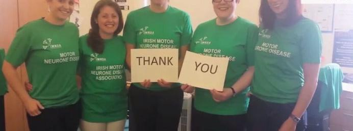 IMNDA says 'Thank You' to the Ice Bucket Challenge takers, after raising �1.4m