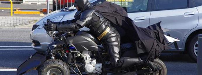What a hero! Real-life Batman takes to the streets