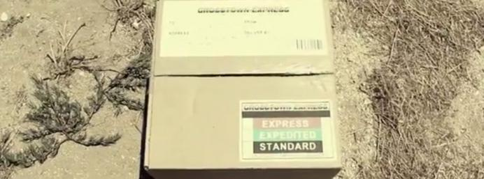 Video: Morgan Freeman unboxing from Se7en