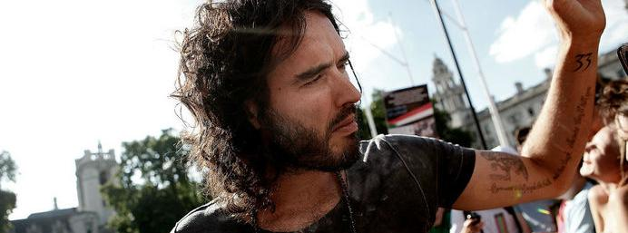 Watch what happened when Russell Brand visited Fox News