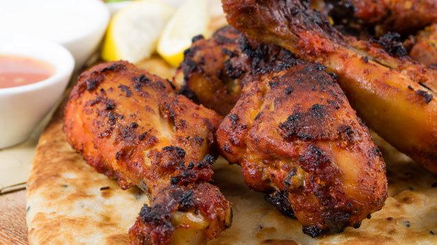 Chicken Breasts with Chilli Yoghurt Marinade