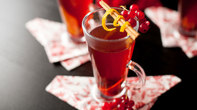 Mulled Berry Cider