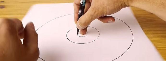 Learn how to draw a perfect freehand circle!