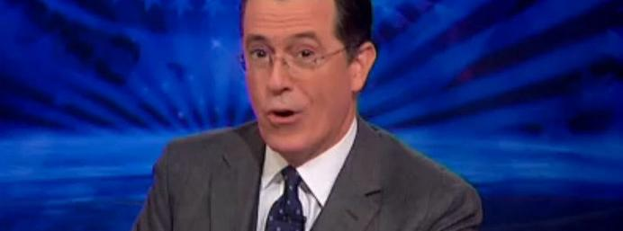 Stephen Colbert says goodbye to his popular show surrounded by celebrities!