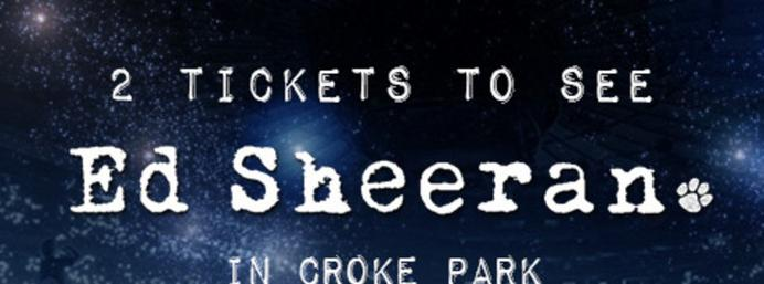 Win two tickets to see Ed Sheeran in Croke Park