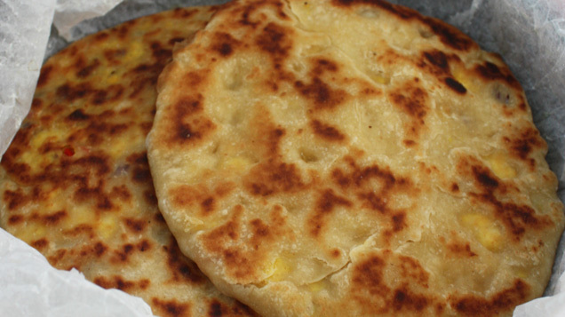 Ali\'s Savoury Bread: Indian Paneer Kulcha with Raita