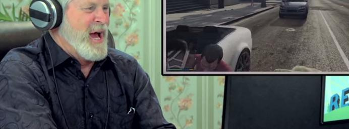 Old people play GTA V and have a surprisingly good time