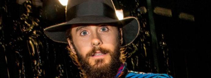 Jared Leto gave another bizarre acceptance speech at...