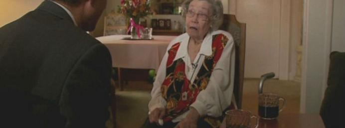 104 year old woman reveals the bizarre secret to her...