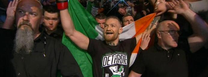 Conor McGregor's next fight confirmed for UFC 178 in Vegas