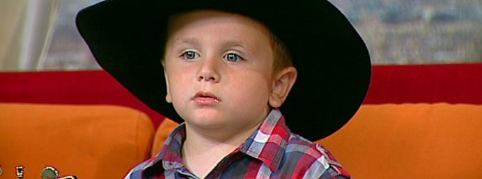 Who needs Garth Brooks when we've got this 4-year-old from Limerick?