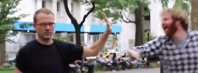 Funny Or Die spoof viral New York street harassment...