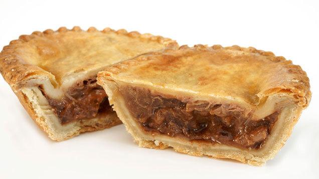 Joe\'s braised beef cheek and vegetable pie