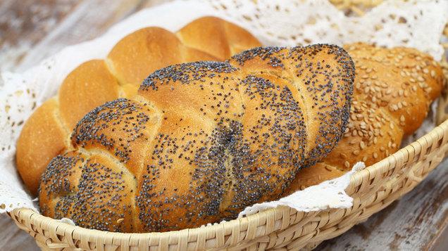 Gluten Free Lemon Poppy Seed Loaf