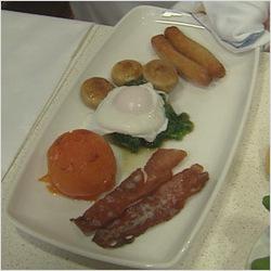 Healthy Irish breakfast