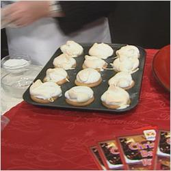 Baked Alaska Mince pies