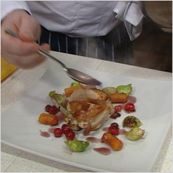 Christmas Chicken Dish