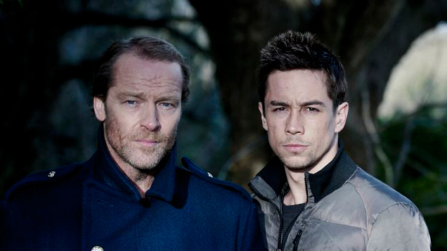 KILLIAN SCOTT AND IAIN GLEN STAR IN JACK TAYLOR - THE DRAMATIST ON TV3