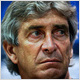 Pellegrini denies Man City link