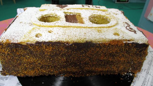 Cassette Cake