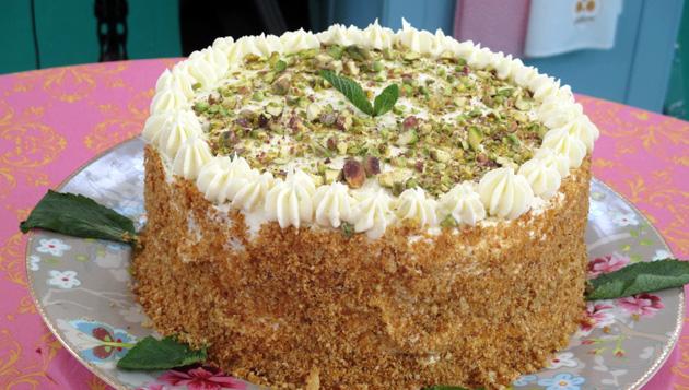 Treasa's Citrus Burst Layer Cake