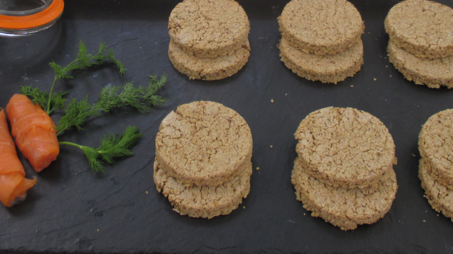 Savoury- Black Pepper Oat Cakes