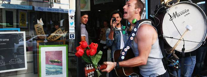 Watch: Coldplay's new video explains why Chris Martin was walking around Sydney