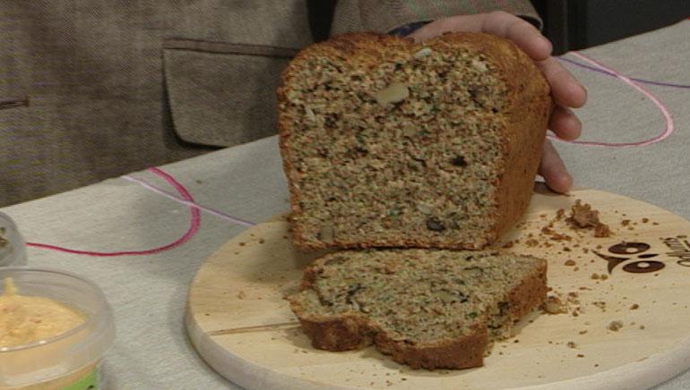 Seed and Walnut Loaf