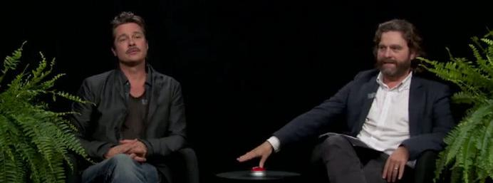 The new Between Two Ferns with Brad Pitt might be the best one yet