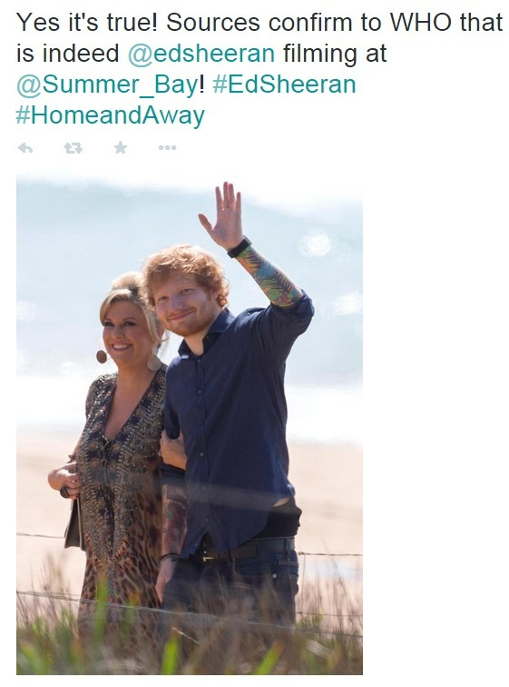 Ed Sheeran has landed a role on Home and Away Ed-3_181192
