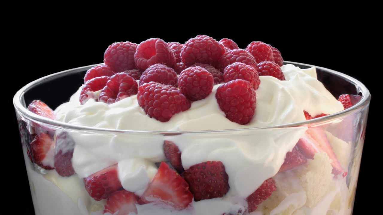 White Chocolate & Raspberry Trifle | Ireland AM