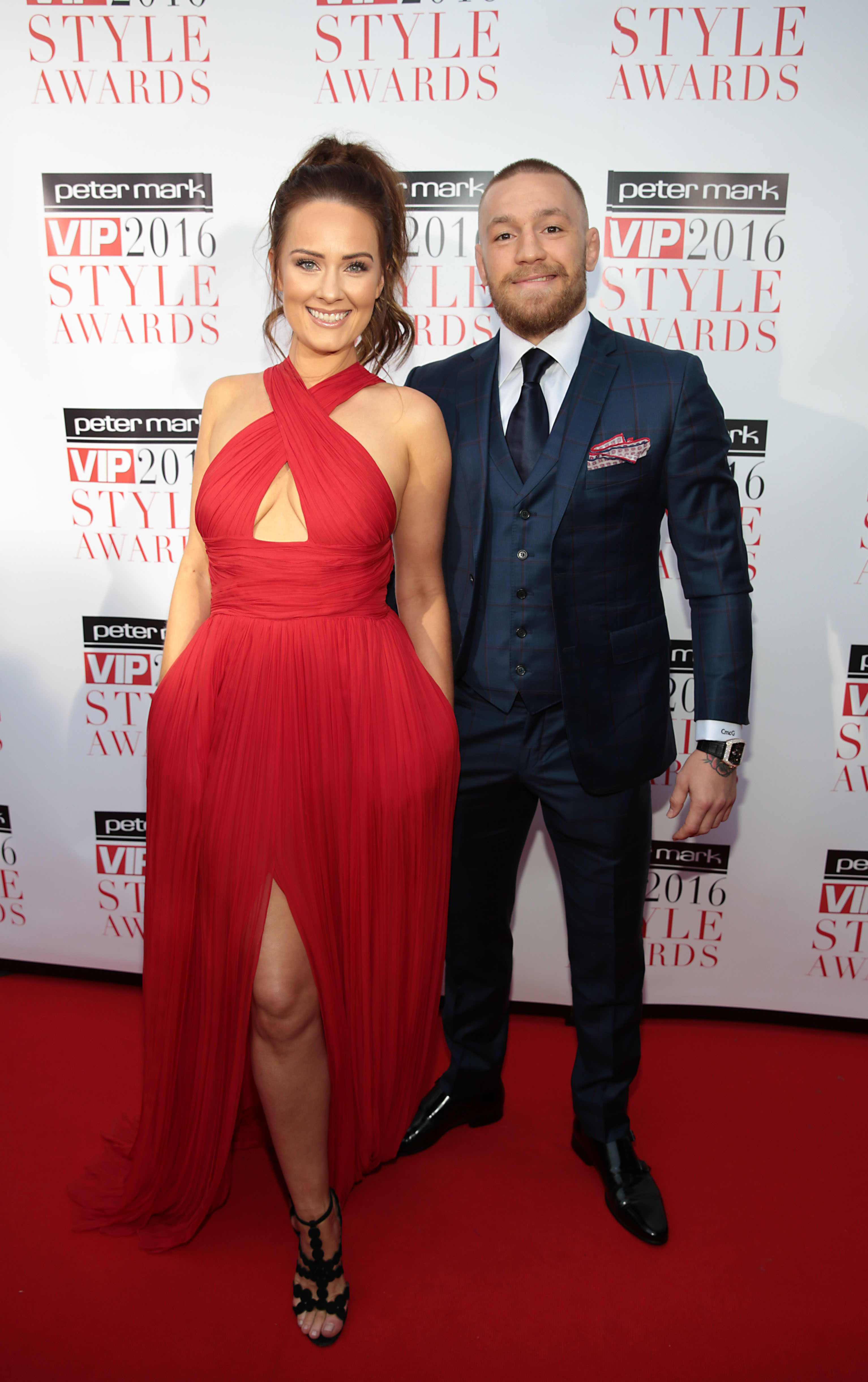 Conor Mcgregor And Dee Devlin Stun On The Red Carpet At The Vip Style Awards Tv3 Xpos