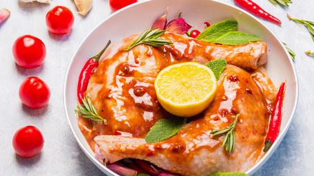 One Pot Piri Piri Chicken