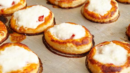 Tomato & Mozzarella Tarts