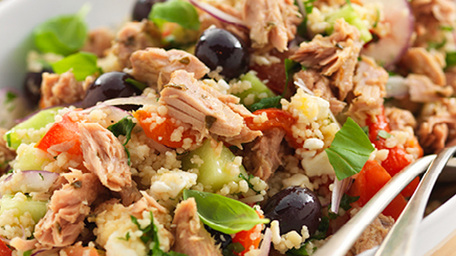 Infusions Tuna Greek Style Salad