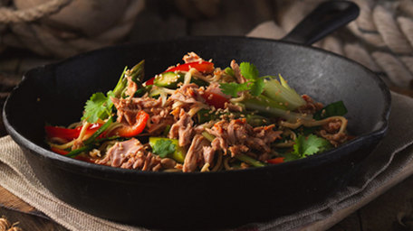 Chilli and Garlic Infusions Tuna Stir-Fry
