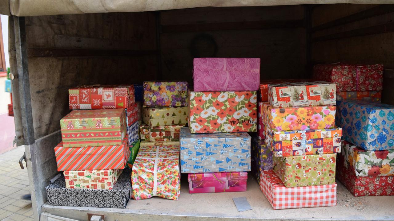 Ireland AM Christmas Shoebox Appeal