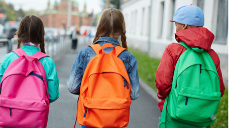 Are schoolbags too heavy?