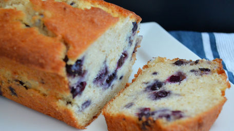 Blueberry and Ricotta Loaf