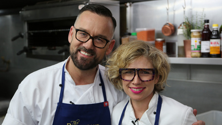Brendan Courtney and Sonja Lennon ready to take on 'The Restaurant'