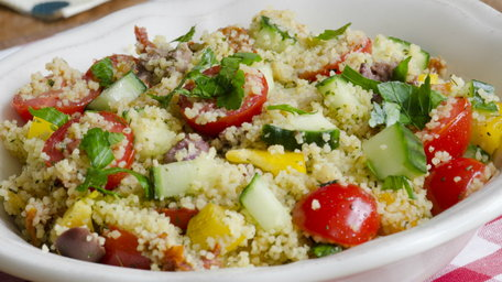 Spiced Couscous Salad