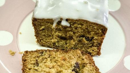 Honey sultana loaf cake